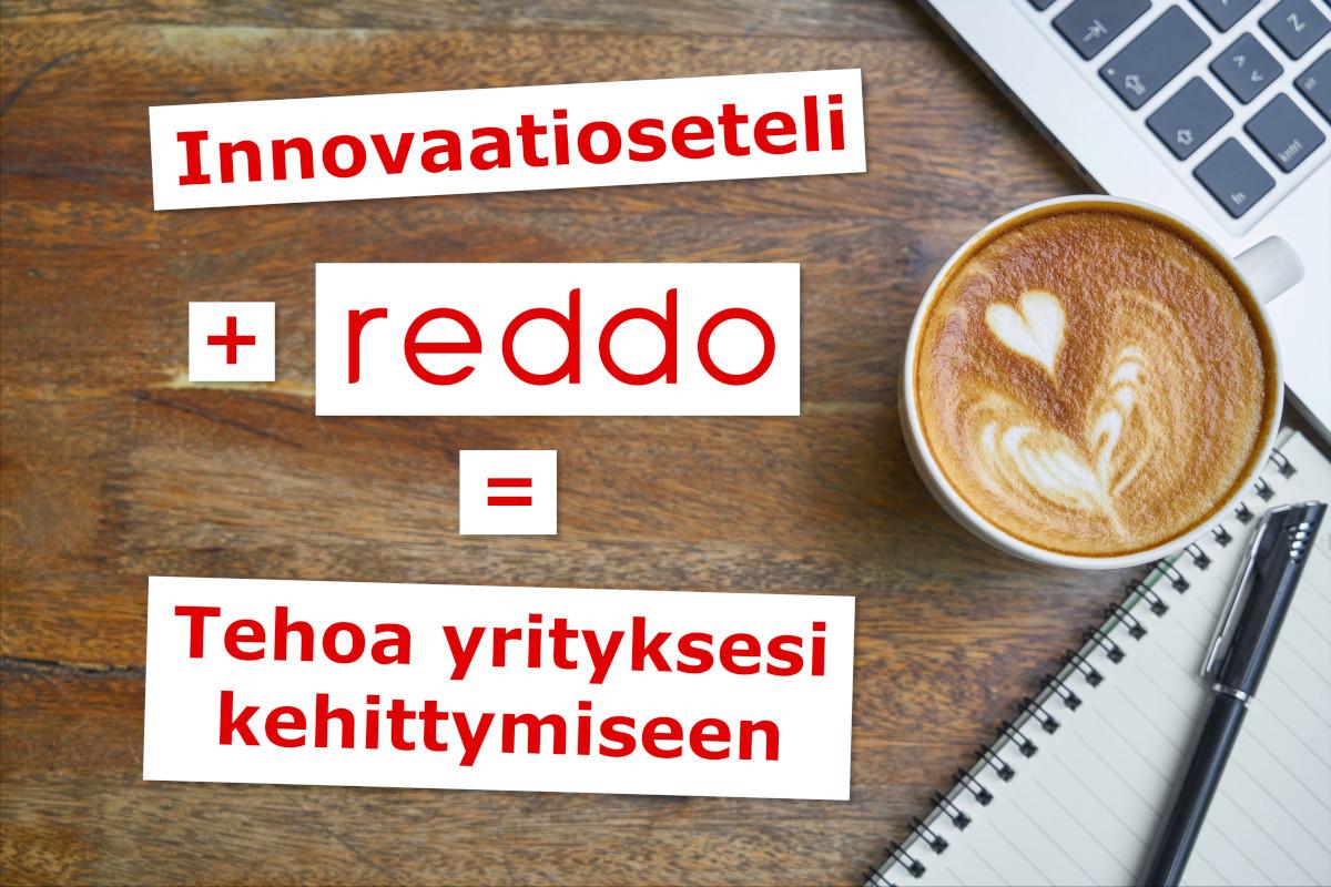 Innovaatioseteli + Reddo Partners Oy = tehoa yrityksesi kehittymiseen